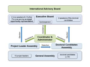 Organizational Structure of the RTG 2740